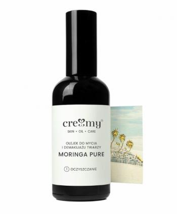Olejek do Mycia Twarzy i Demakijażu Moringa - Creamy