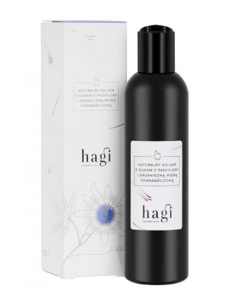 Balsam z Organiczną Wodą Pomarańczową i Olejem z Passiflory - Hagi