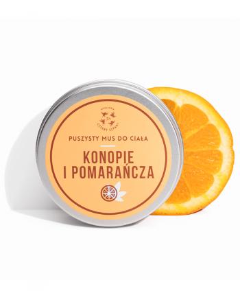 Mus do Ciała Konopie i Pomarańcza - Cztery Szpaki