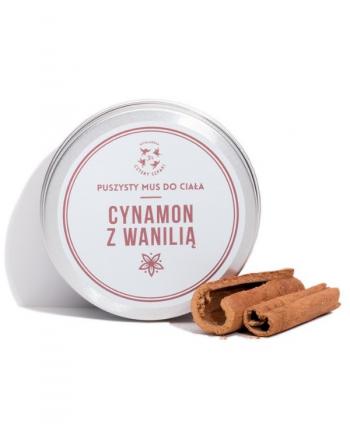 Mus do Ciała Cynamon z Wanilią - Cztery Szpaki