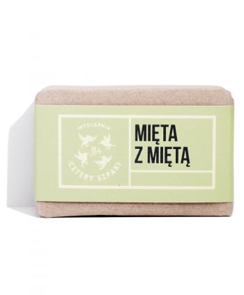 Mydło Mięta z Miętą - Cztery Szpaki