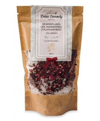 Sól Magnezowa z Płatkami Róży - Dolina Czeremchy