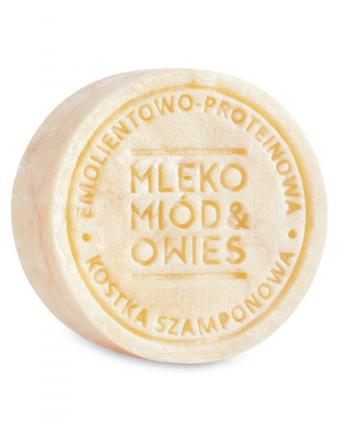 Szampon w Kostce Mleko-Miód-Owies - Ministerstwo Dobrego Mydła