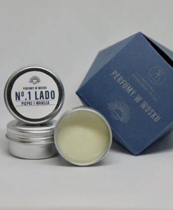 Perfumy Nr 1. LADO Pieprz i Wanilia - Bydgoska Wytwórnia Mydła