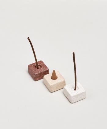 Ceramiczna Podstawka Cube Chestnut - Purnama Rituals