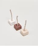 Ceramiczna Podstawka Cube White - Purnama Rituals