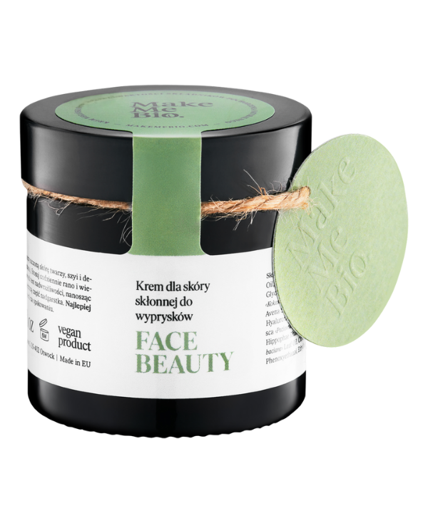 Face Beauty Krem dla Skóry Skłonnej do Wyprysków - Make Me Bio