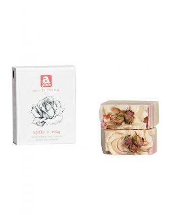 Mydło z Różą Naturalne - Ajeden