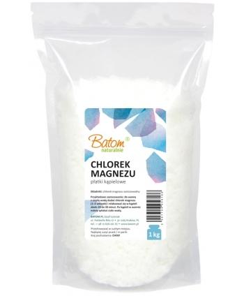 Płatki Kąpielowe Chlorek Magnezu 1 kg - Batom