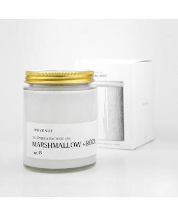 Świeca Sojowa Marshmallow +...